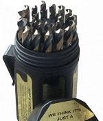 Drill America - KFD29J-PC 29 Piece Heavy Duty High-Speed Steel Drill Bit