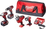 3.	A heavy-duty power tool set